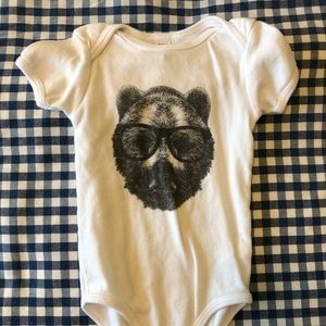 American Apparel Bear Onesie - washed never worn!